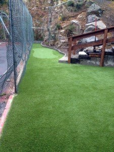 Artificial Grass Play area with golf