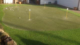 Artificial Grass Putting Green Galway