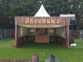 Artificial Grass for Ed Sheeran
