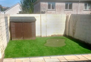 Artificial Grass Lawn and Putting Green