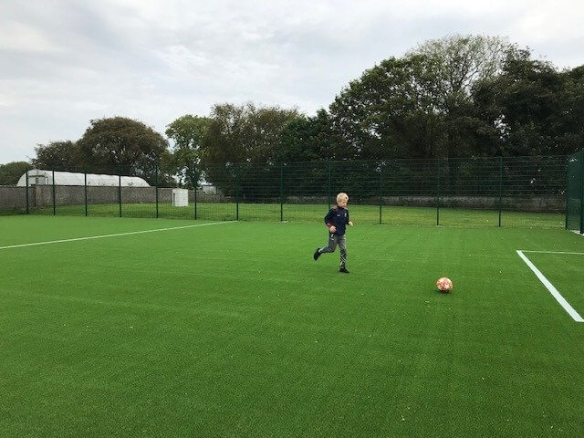 Artificial Grass School All-Weather Pitch